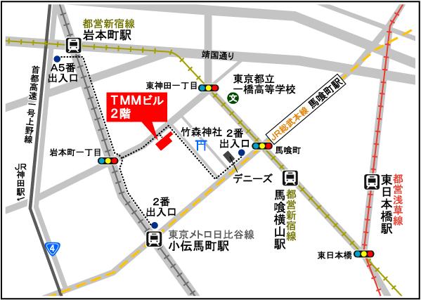 旅行読売出版社 所在地地図